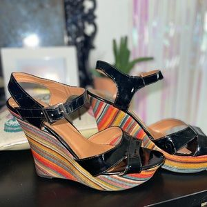 FRH serape wedges